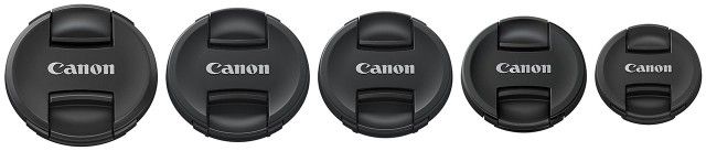 Canon Pinch Lens Caps