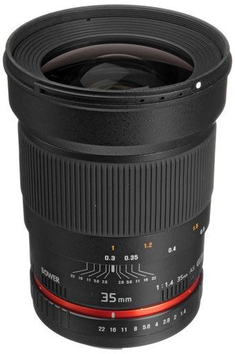 Bower 35mm Lens