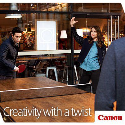 Canon France Teaser Ad