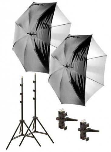 Impact Digital Flash Umbrella Kit