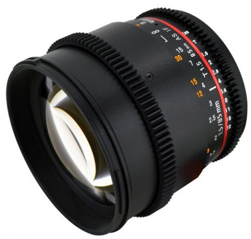 Rokinon 85mm Cine Lens