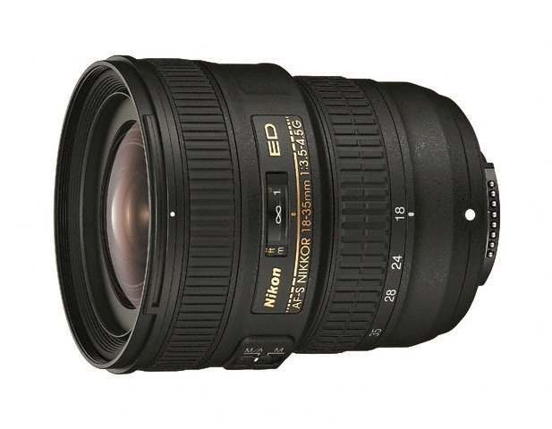 AF-S NIKKOR 18-35mm f/3.5-4.5G ED Lens