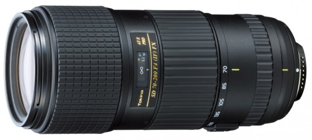 Tokina AT-X 70-200mm f4 PRO FX VCM-S Lens