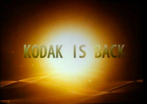 Kodak is Back