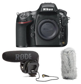 Nikon D800 HDSLR Bundle