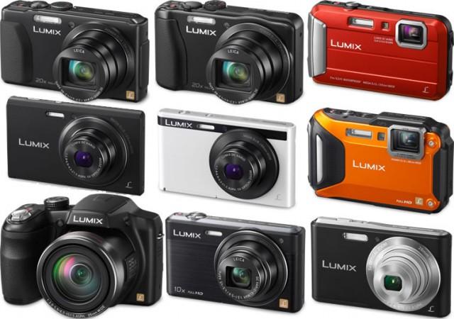 Panasonic Lumix Cameras 2013