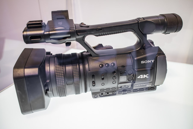 Sony XAVC 4K Camcorder