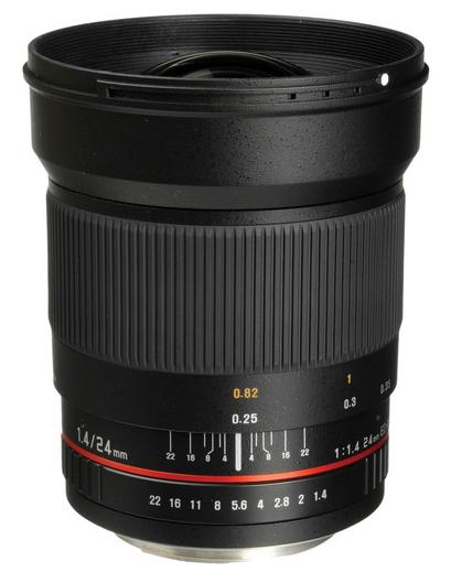 Bower 24mm Lens