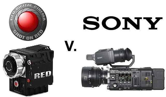 RED v Sony