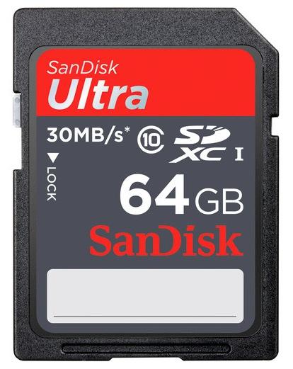 SanDisk Ultra 64GB SDXC