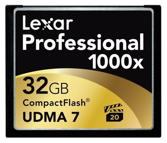 Lexar Professional 1000x CF Card