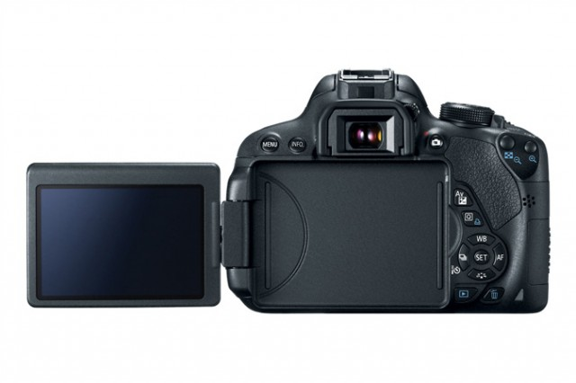 Canon Rebel T5i Rear LCD