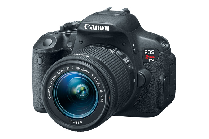Canon Rebel T5i with Lens