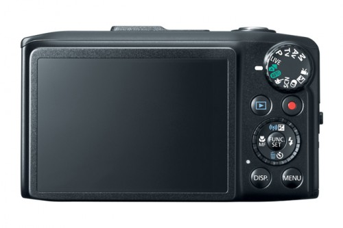 Canon SX280 HS Back