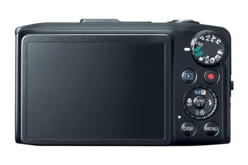 Canon SX280 HS Back