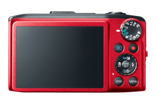 Canon SX280 HS Back Red