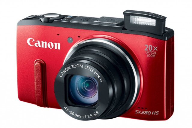 Canon SX280 HS Red