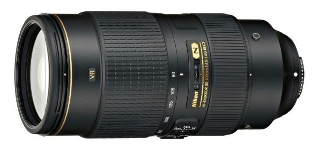 Nikon AF-S 80-400mm Lens