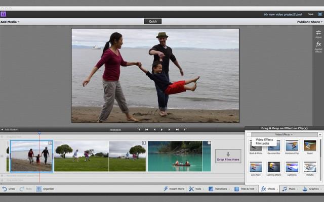 Premiere Elements Quick Editor