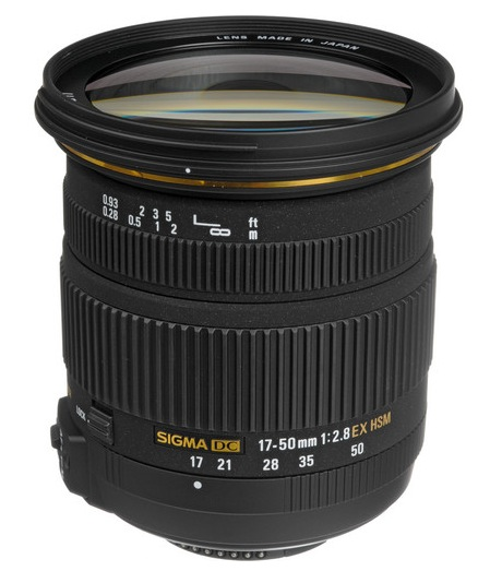 Deal: Sigma 17-50mm f/2.8 EX DC OS HSM Lens for $369