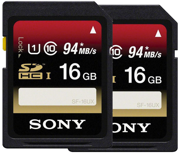Sony 16GB Cards