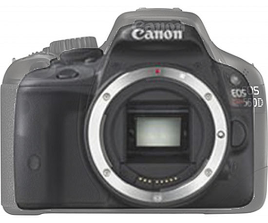 Canon Rebel Compared to Canon EOS-b