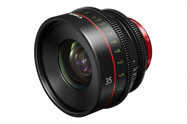 Canon CN-E 35mm Cinema Prime Lens