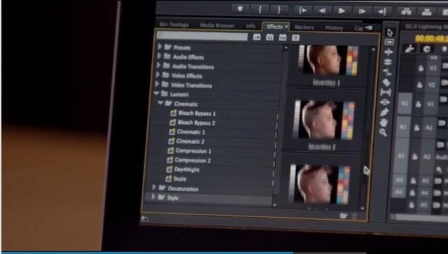 Looks Browser Premiere Pro