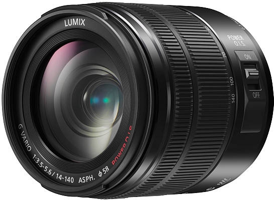 Panasonic 14-140mm Power OIS Lens