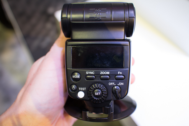 Pentax Speedlight at CES 2013-5