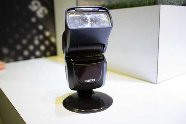 Pentax Speedlight at CES 2013