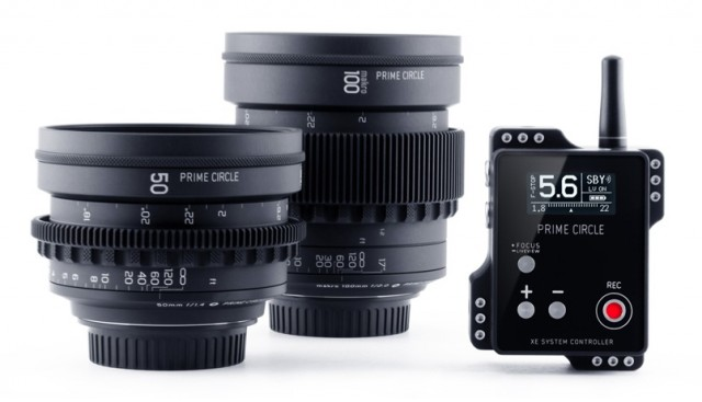 Prime Circle XE Cinema Lenses