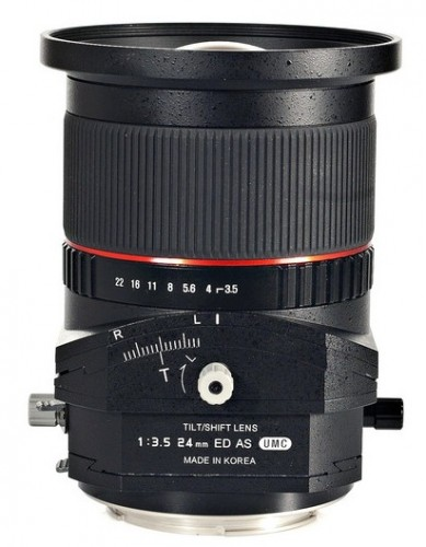 Rokinon 24mm Tilt Shift Lens