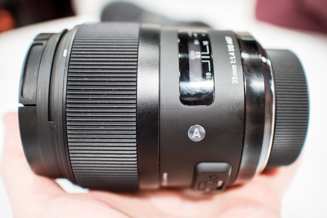 Sigma Lenses at CES 2013-4