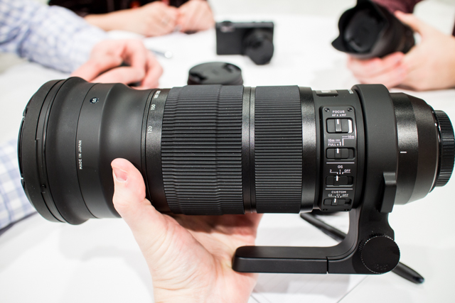 Sigma Lenses at CES 2013-5