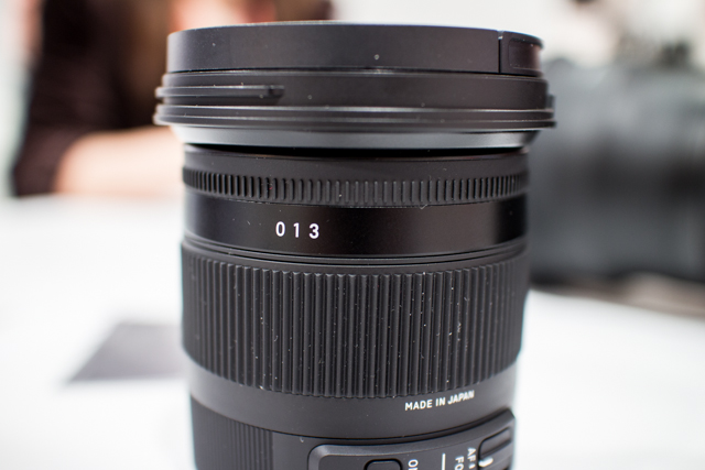 Sigma Lenses at CES 2013-6