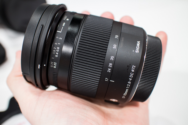 Sigma Lenses at CES 2013