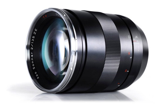 Zeiss 135mm f2 Apo Sonnar T ZE Lens