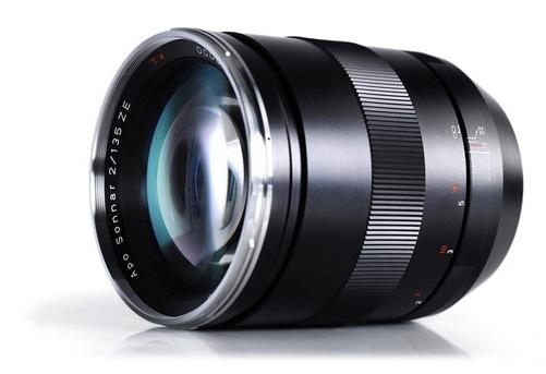 Zeiss 135mm f2 Apo Sonnar T ZE Lens
