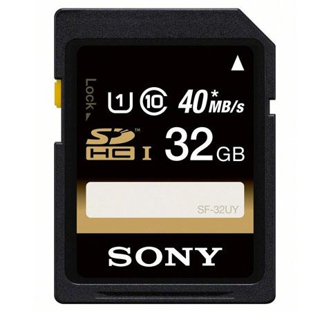 Sony 32GB SDHC Card