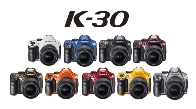 Pentax K-30 Colors