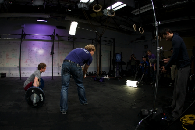 CrossFit Chad Vaughn BTS