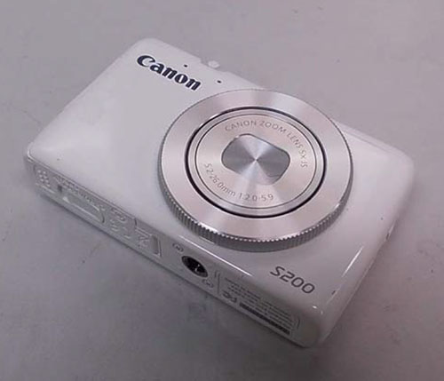 Canon PowerShot S200 and New Superzoom Cameras Leak Out
