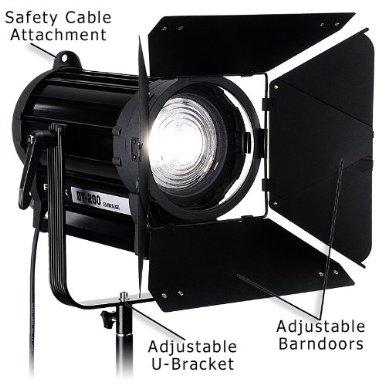 Fotodiox DY-200 LED Fresnel Outline