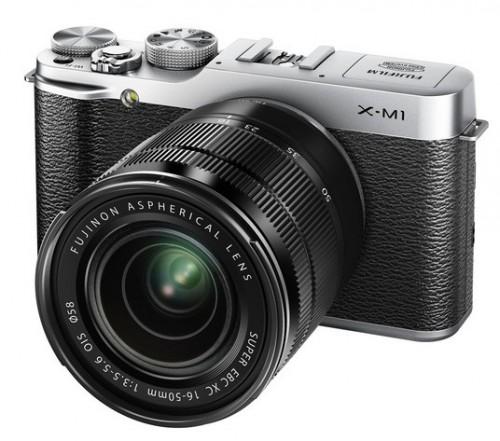Fuji X-M1 Silver