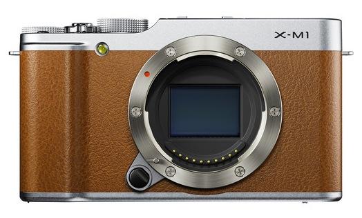 Fuji X-M1 brown