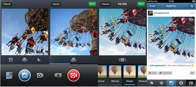 Instagram Video UI