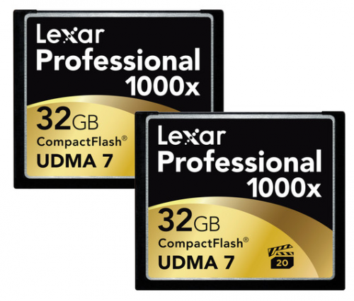 Lexar Pro CF Cards