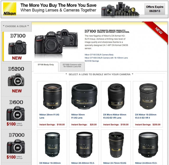 Nikon DSLR Bundle Deal