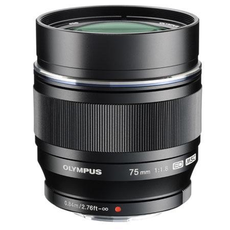 Olympus 75mm 1.8 Lens
